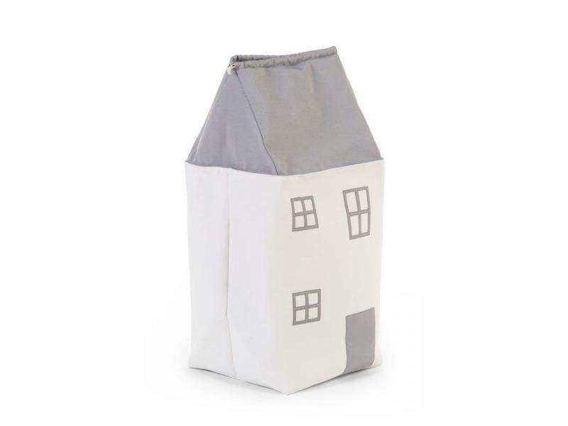 Box na hračky Dům Grey Off White 1