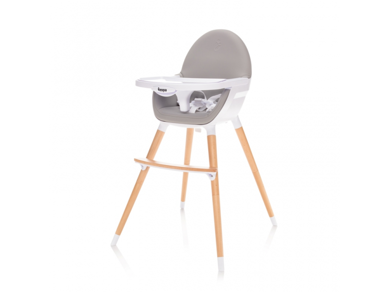 Zopa Dětská židlička Dolce, Dove Grey-sv.šedá 2018